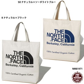 【THE NORTH FACE】TNF Oganic Cotton Tote ザノースフェイス(NM81971)
