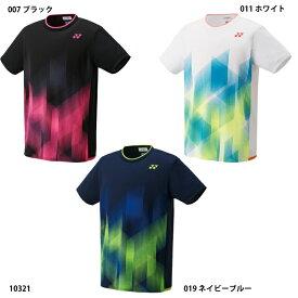 ネコポス選択可【ヨネックス】ゲームシャツ(フィットスタイル) テニスウェア/バドミントンウェア/ヨネックス/YONEX(10321)