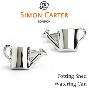 【SIMON CARTER】Potting Shed | Watering Can/ジョウロ カフリンクス真鍮 モチーフ【02P03Dec16】 fs04gm