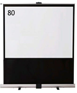 IZUMI 床置・自立式 80インチスクリーン<RS-80> 【代引不可】 【02P13Jun14】
