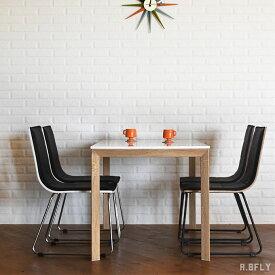 ダイニングテーブルセット 5点セット 4人掛け 130cm幅 北欧 ミッドセンチュリーモダン おしゃれ ダイニング 食卓 鏡面 ホワイト 白 チェアー 椅子 4人用