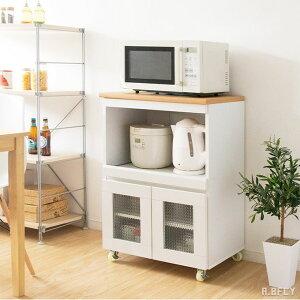 キッチン収納 キッチンカウンター レンジ台 キッチンボード 食器棚 幅60 コンパクト 耐熱 タイル スライド棚 インテリア 可愛い ひとり暮らし 新生活 炊飯器 ケトル ナチュラル カントリー