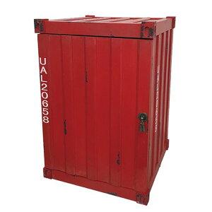 トランクケース トランク 収納ボックス 木箱 コンテナ型 コンテナ型ボックス おもちゃ箱 収納家具 アメリカン ファクトリー カフェ 男前インテリア 西海岸 アンティーク カラフル ヴィンテ