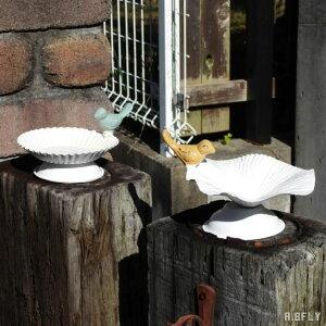 バードフィーダー 小鳥 鳥 餌入れ ガーデニング雑貨 インテリア ディスプレイ アンティーク シャビーテイスト エクステリア 水やり 置物 アクセサリー収納