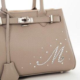 【オプション3】スワロフスキー イニシャル バッグは別注文です バッグチャーム デコ バッグ スワロ デコレーション 名入れ カスタマイズ デコレーション バッグ オーダー 母の日 ギフト 誕生日プレゼント