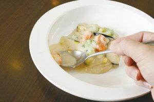 介護・高齢者・障害者用 食器(皿・茶わん) すくいやすい皿