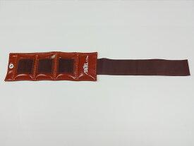重錘バンド 赤茶(0.75kg) 1個【おもり/ウエイト/リハビリ/トレーニング用品】