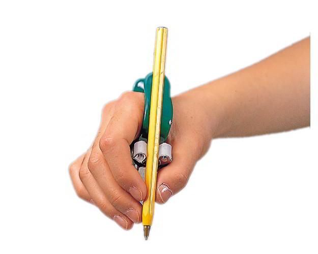 スプーンやペンをもつ動作をサポートするユニバーサルニューカフ【ユニバーサルカフ/自助具/書字用/筆記用具/万能カフ】