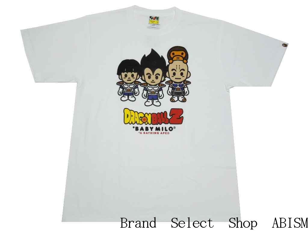 【代引き不可】A BATHING APE(エイプ)xDRAGONBALL Z(ドラゴンボール)BAPE X DRAGON BALL Z TEE #3【Tシャツ】【ホワイト】【日本製】【新品】BAPE(ベイプ)
