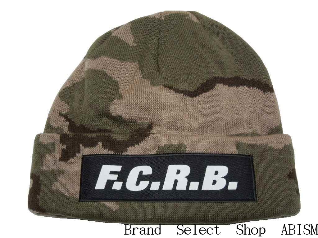 F.C.R.B.(エフシーアールビー)CAMOUFLAGE KNIT CAP【ニットキャップ】【ニット帽/ビーニー】【ベージュ】【日本製】【新品】【2016AW】SOPHNET. (ソフネット)(FCRB)