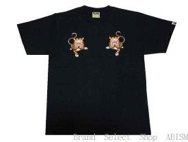 【代引き不可】A BATHING APE(エイプ)BAPE TIGER TEE【Tシャツ】【ブラック】【新品】【MEN'S】【BAPE/ベイプ】