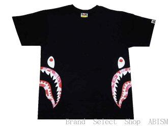 7d0b652cb064 brand select shop abism: A BATHING APE (エイプ) ABC SIDE SHARK TEE ...