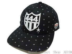 YOSHINORI KOTAKE(ヨシノリコタケ)[444]ロゴ STAR DOT CAP【キャップ】【6PANEL/6パネル】【BLACK/ブラック】【新品】