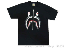 A BATHING APE(エイプ)CITY CAMO SHARK TEE【Tシャツ】【ブラックxブラック】【新品】【MEN'S】【BAPE/ベイプ】