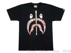 A BATHING APE(エイプ)ABC CAMO SHARK TEE【Tシャツ】【ブラックxピンクCAMO】【新品】【MEN'S】【BAPE/ベイプ】