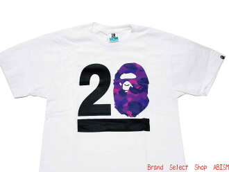 A BATHING APE (エイプ) NW20 BAPELAND 베이 플랜 드 제한 COLOR CAMO (PURPLE) TEE T 셔츠 BAPE (ベイプ)