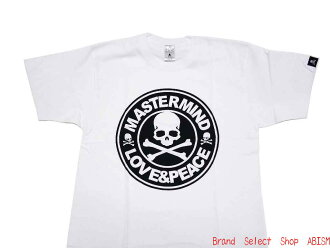 "mastermind JAPAN (mastermind Japan) ""EVE THE MASTERMIND FINAL' ' ★ LOVE and PEACE ★"" (t-shirt) (white)"