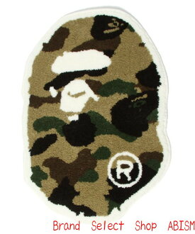 A BATHING APE (APE) 1 ST CAMO APE HEAD RAG エイプヘッド-rag mat BAPE (BAPE)