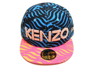 KENZO (Kenzo) × NEWERA (Newell) collaboration with Cap 2014 (Cap) (PINK×BLUE)