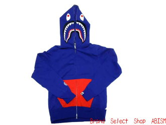 A BATHING APE (APE) UNION JACK SHARK FULL ZIP HOODIE BAPE bape shark フルジップフーディー Union Jack (Parker)