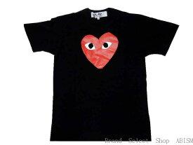 ★メンズサイズ★PLAY COMME des GARCONS(プレイ コムデギャルソン)『レッド・ハート・Tシャツ』【Men's】【ブラック】【日本製】【新品】