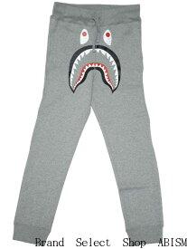 A BATHING APE(エイプ)SHARK SLIM SWEAT PANTS【スウェットパンツ】【グレー】【新品】【BAPE/ベイプ】