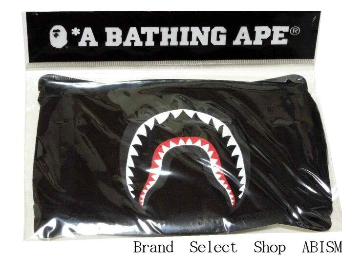 【代引き不可】A BATHING APE(エイプ)SHARK MASK(シャークマスク)【ブラック】【新品】BAPE(ベイプ)