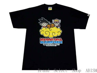 A BATHING APE (エイプ) BAPE X DRAGON BALL + DR. SLUMP ARALE TEE # 2 (드래곤볼 + Dr. 슬 럼 프 아 라 레 치 않음)