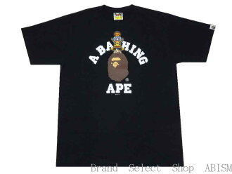 A BATHING APE(eipu)X ONE PIECE(连衣裙)LUFFY&CHOPPER X MILO COLLEGE TEE(rufi+斩波器+mairo)