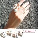 【ポイント20倍】ABISTE(アビステ) マジョルカパールデザインリング 6181001 レディース 女性 人気 上品 大人 かわい…