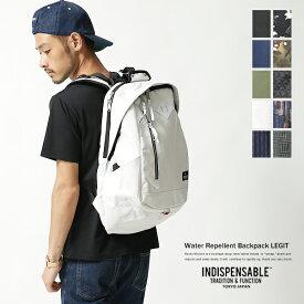 【INDISPENSABLE/インディスペンサブル】デイパック/IDP Backpack LEGIT/リュックサック/メンズ/バックパック/17710200◆4122