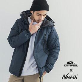 NANGA ナンガ ダウンジャケット KRIFF MAYER クリフメイヤー メンズ 日本製 撥水 防寒 アウトドア 登山 軽量 トレックダウン 無地1929955 4952 NA2019