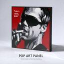 アートパネル Brad Pitt2 ブラッド・ピット2 インテリア ポスター 壁掛け グラフィック 6852