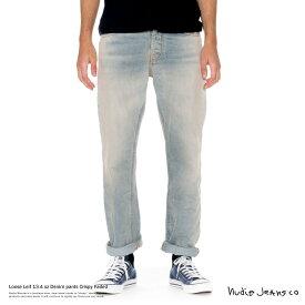 Nudie Jeans ヌーディージーンズ 112327 デニム ブリーチ LOOSE LEIF Crispy Faded ルーズリーフ 7023【Sサイズ】