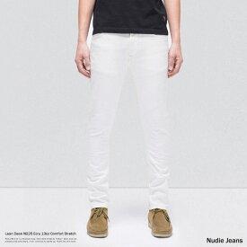 Nudie Jeans ヌーディージーンズ 112905031 Lean Dean リーンディーン Ecru N225 メンズ デニムパンツ ジーンズ ホワイト 生成り スリム ストレート タイト テーパード 8854