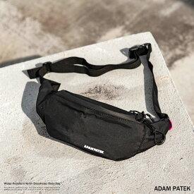ADAM PATEK アダムパテック ウエストポーチ ウエストバッグ ボディバッグ ショルダー 斜めがけ Breathatec ブリザテック 撥水 透湿防水素材 WOOJIN PLASTIC ウージンプラスチック AMPK-B052 8918