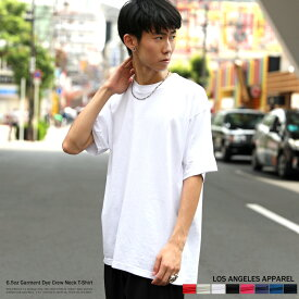 88178256220e11 LOS ANGELES APPAREL ロサンゼルス アパレル 半袖Tシャツ メンズ ユニセックス 無地 シンプル アメカジ カジュアル ビッグ