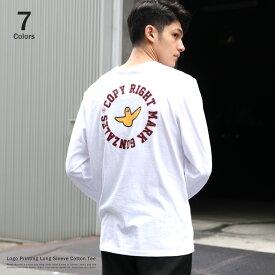 MARK GONZALES マークゴンザレス ロンT メンズ レディース ユニセックス Tシャツ 長袖 ネームロゴ バックプリント ストリート カジュアル B系 2G7-5301 9129
