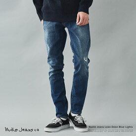 Nudie Jeans ヌーディージーンズ Lean Dean Blue Lights デニムパンツ メンズ ジーンズ ジーパン スキニー スリム オーガニックコットン 綿 タイトフィット テーパード ストレッチ 伸縮性 113173030 9211