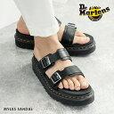 Dr.Martens ドクターマーチン サンダル 厚底 MYLES マイルス スライド レディース メンズ ユニセックス シューズ 靴 …