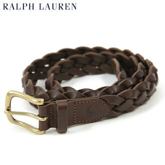 Ralph Lauren Mesh Leather Mesh Belt US polo Ralph Lauren leather mesh belt