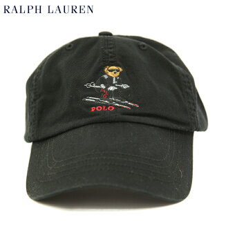 "Polo by Ralph Lauren""POLO BEAR""Baseball Cap US马球拉尔夫劳伦盖子"