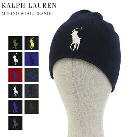 "Polo by Ralph Lauren Big Pony ""Merino Wool"" Beanie US ポロ ラルフローレン ニットキャップ ニット帽 ビッグポニー メリノウール"