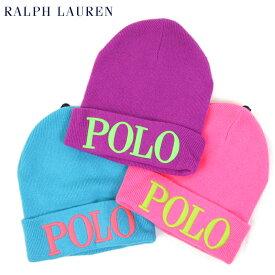 "Polo by Ralph Lauren ""POLO"" Beanie US ポロ ラルフローレン ニットキャップ ニット帽"