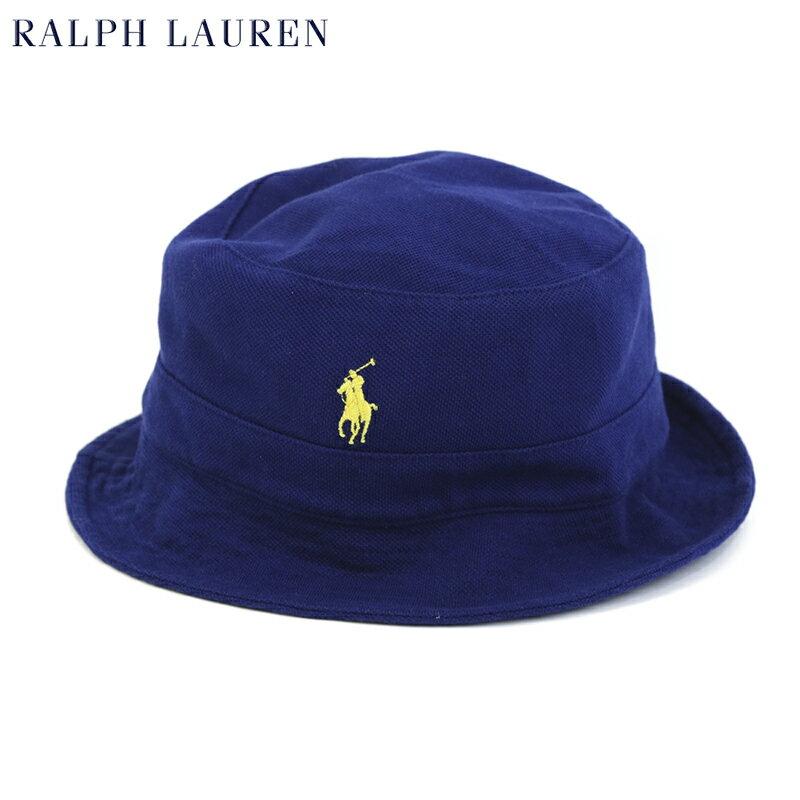 Polo by Ralph Lauren Mesh Bucket Hat US ポロ ラルフローレン ポニー刺繍 鹿の子 ハット