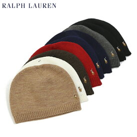 Polo by Ralph Lauren Merino Wool Knit Beanie US ポロ ラルフローレン メリノウール ニットキャップ ビーニー