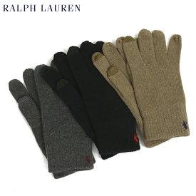 ポロ ラルフローレン タッチパネル対応のニット手袋POLO Ralph Lauren The Touch Glove US