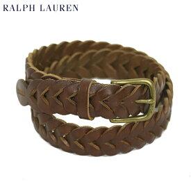 ポロ ラルフローレン メンズ メッシュ レザーベルト POLO Ralph Lauren Leather Mesh Belt US