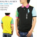 "Ralph Lauren Boy's""BIG PONY"" Mesh POLO Shirts USボーイズ ラルフローレン ポロシャツ"