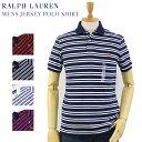 """Ralph Lauren Men's """"MEDIUM FIT"""" Border Jersey Polo US ポロ ラルフローレン メンズ ボーダー ポロシャツ"""